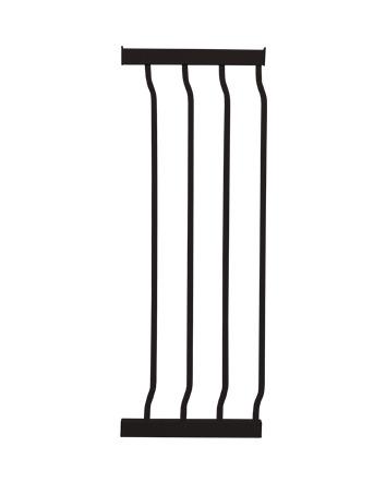 LIBERTY XTRA-TALL 27CM GATE EXTENSION - BLACK