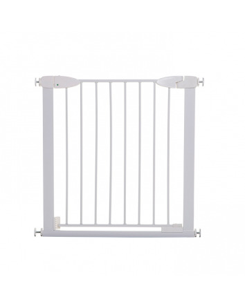 BOSTON MAGNETIC AUTO-CLOSE SECURITY GATE  - WHITE