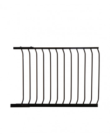 CHELSEA 100CM GATE EXTENSION - BLACK