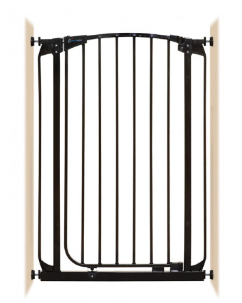 CHELSEA  XTRA-TALL AUTO-CLOSE SECURITY GATE - BLACK