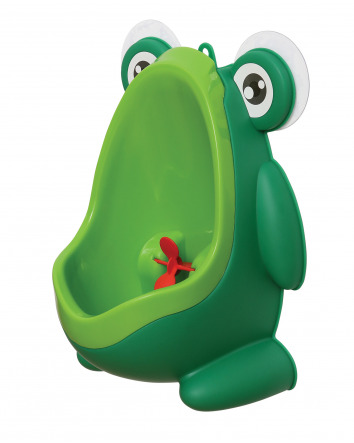 PEE-POD URINAL WITH SPINNING TARGET