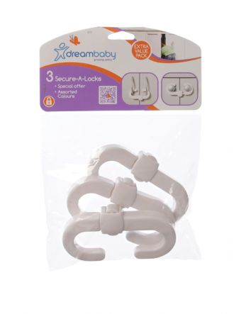 SECURE-A-LOCKS VALUE 3-PACK