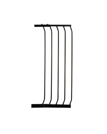 CHELSEA XTRA-TALL 36CM GATE EXTENSION - BLACK