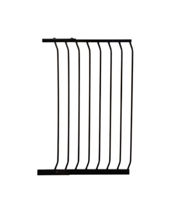 CHELSEA XTRA-TALL 63CM GATE EXTENSION - BLACK