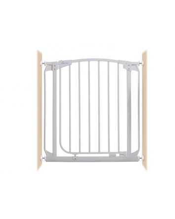 CHELSEA AUTO-CLOSE SECURITY GATE WHITE