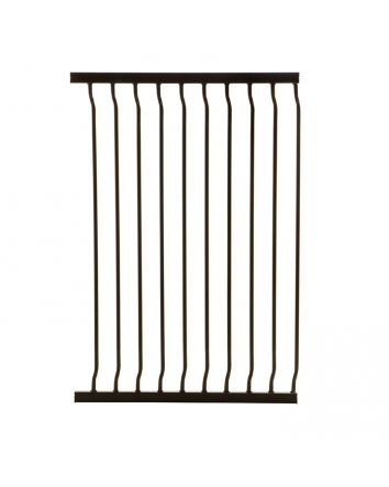 LIBERTY XTRA-TALL 63CM GATE EXTENSION - BLACK