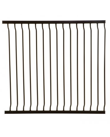 LIBERTY XTRA-TALL 100CM GATE EXTENSION - BLACK