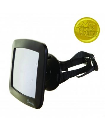 ADJUSTABLE BACKSEAT MIRROR
