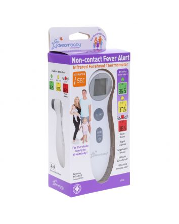 NON-CONTACT FEVER ALERT INFRARED FOREHEAD THERMOMETER