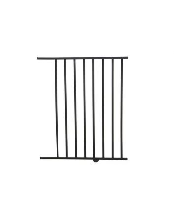 SAVANNAH & ATLANTIS 56CM GATE EXTENSION - SILVER/DARK WOOD