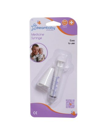 Dreambaby Medicine Syringe with Adaptor