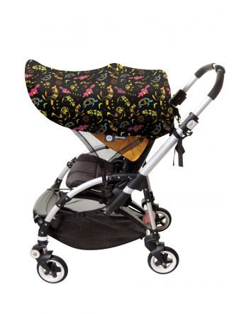 LARGE STROLLERBUDDY® EXTENDA-SHADE® (ANIMAL PATTERN)